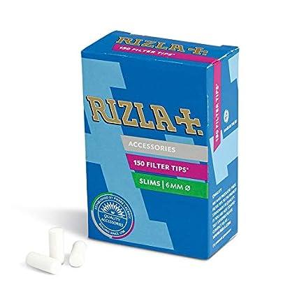 108d1e8bf007 Rizla Filtri per Sigarette 6 Mm x 14 Mm , 10 Confezioni da 150 filtri:  Amazon.it: Salute e cura della persona