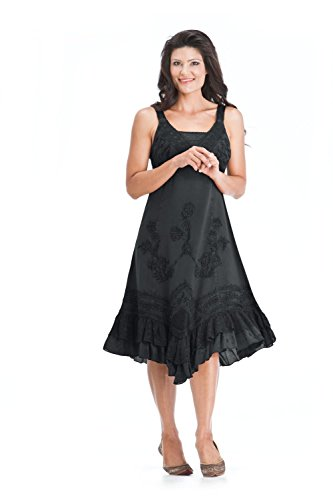 Ruched Georgette Dress - 6