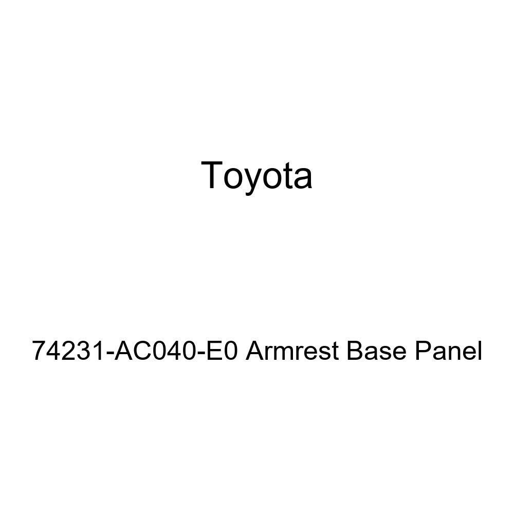 TOYOTA Genuine 74231-AC040-E0 Armrest Base Panel