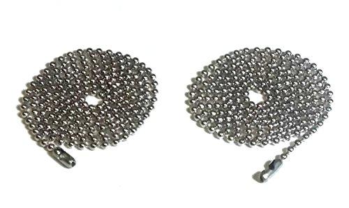 silver ceiling fan chain - 3