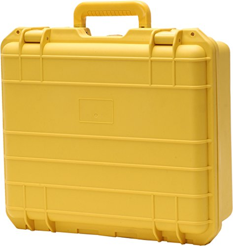 T.Z. Case International T.z Compact 3-Bottle Wine Case, Molded Polypropylene, Yellow by T.Z. Case International