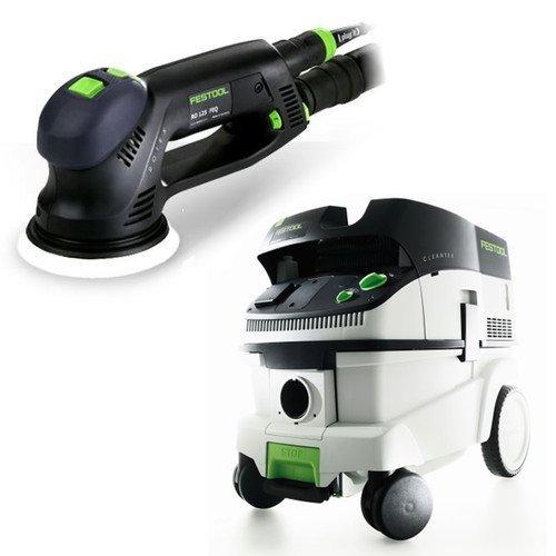 Festool P26571782 RO 125 FEQ Rotex Sander + CT 26 ()