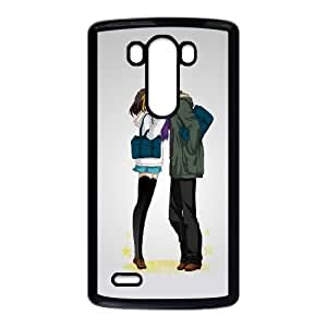 Comics Lovers Kissing LG G3 Cell Phone Case Black&Phone Accessory STC_115101