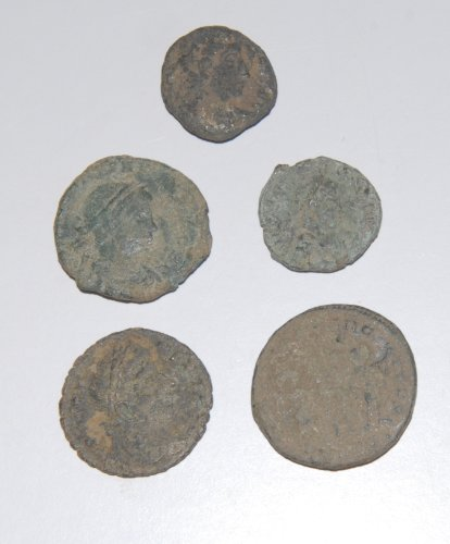 Uncleaned Roman Coins - 3