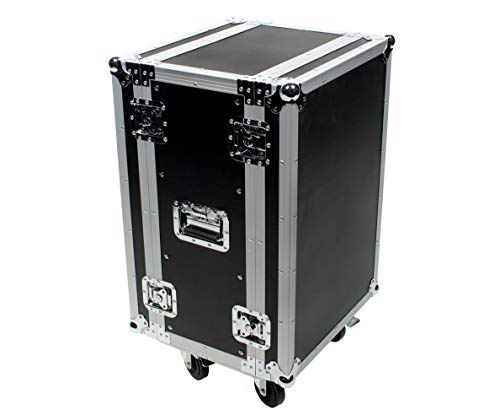 OSP Cases | ATA Road Case | 16-Space Effects Rack | 12