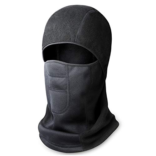 - Your Choice Balaclava Ski Face Mask for Cold Weather Motorcycle Under Helmet Winter Outdoor Black, Warm Series A