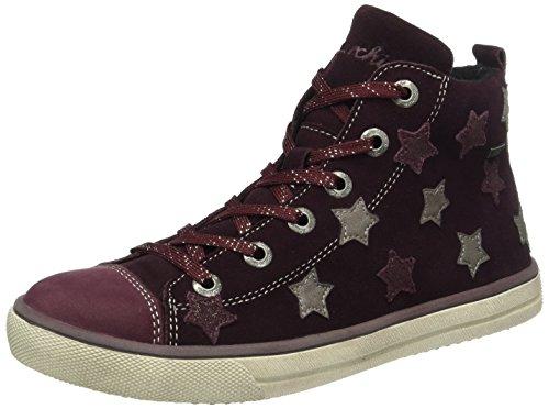 Lurchi Starlet-tex - Zapatillas Niñas Rot (Wine 23)