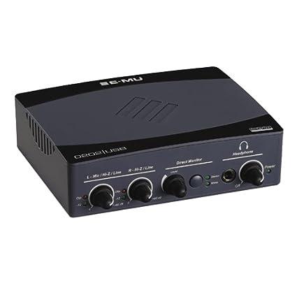 Amazon.com: E-MU 0202 Interfaz de audio USB 2.0: Musical ...