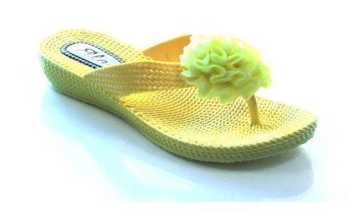 Ubershoes, Sandali donna, Giallo (giallo), 3 UK