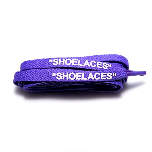 Shoelaces Custom Text Printed Shoe Laces Swap Font - Flat Cotton Design by xxiii (Image #1)