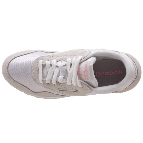 Blanco Reebok Grey Cl Nylon Zapatillas de Trail White Light para Running Mujer Blanco wqw7Srx8d