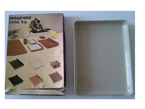 Eldon Image 1500 Series Stacking Desk Tray 1570-3 Putty