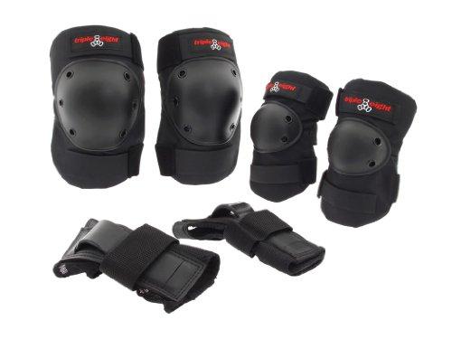 Triple 8 Pads Saver Series Tri Pack (Triple Eight Knee Pads Kids)