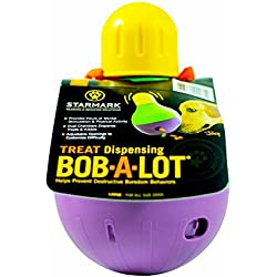 StarMark Bob-A-Lot Interactive Pet Toy, Large