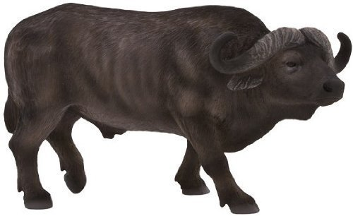 Mojo 387111 African Cape Buffalo Toy Figure - African Buffalo