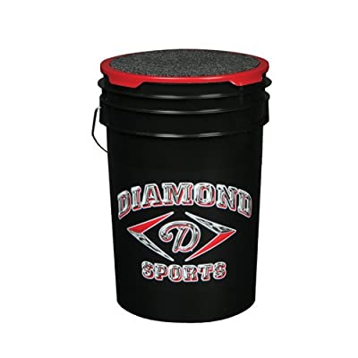 Diamond Logo Padded Seat Ball Bucket