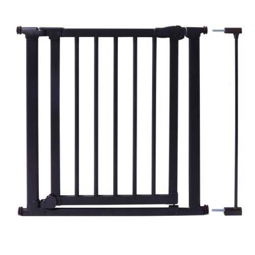 Evenflo Walk Thru Wood And Metal Pressure Gate Black