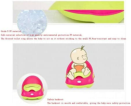 Color : A ECSWP Kinder Toilette Toilette M/änner und Frauen Baby Urinal Potty Kind Baby Toilette Toilette
