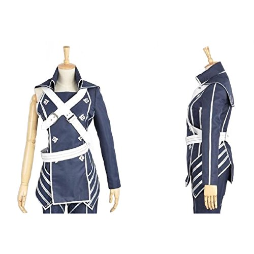 Chrom Costume Deluxe Uniform Cloth Cloak Fire Emblem CL Awakening (Chrom Cosplay Costume)