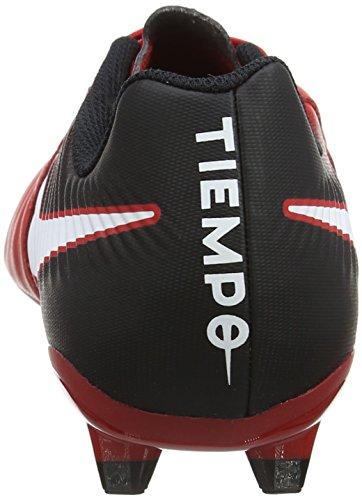 Nike Mens Tiempo Ligera Iv Fg Tacchetta Da Calcio (rossa, Nera) Università Rosso, Nero, Bianco