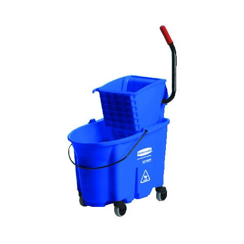 RCP758888RED - Rubbermaid-Wave Brake 32 Quarts Side Press Combo,Red