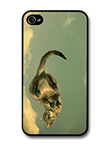 iphone covers Cute Cat Walking On The Clouds case for Iphone 6 plus