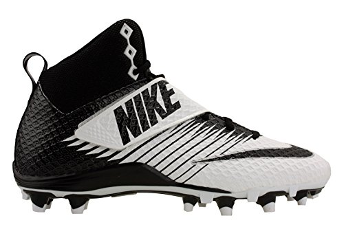 Nike Elite Black Waffle - Nike Men's Lunarbeast Pro TD Football Cleat White/Black Size 12 M US