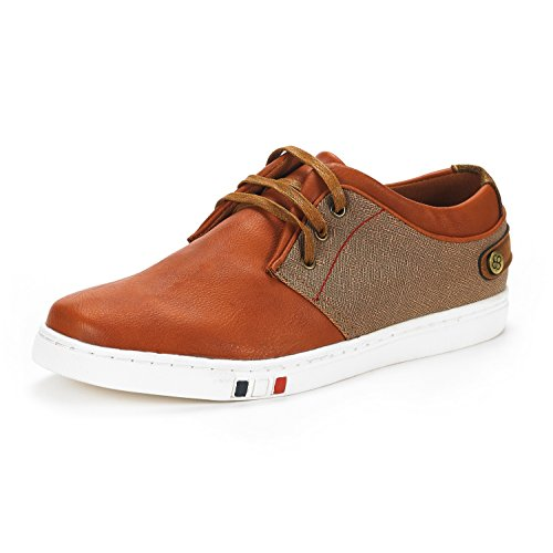 Bruno+Marc+Men%27s+NY-03+Tan+Fashion+Oxfords+Sneakers+Size+13+M+US