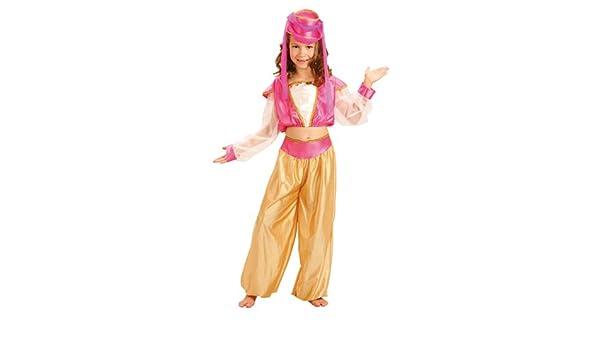 Disfraz de lujo harem bailarina Esmeralda. Tamaño: 7-9 años ...