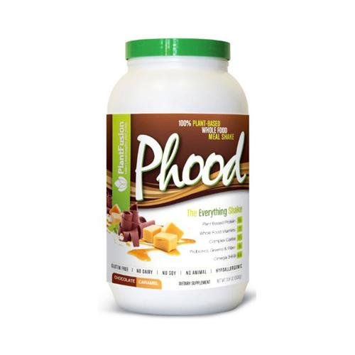 2 Packs of Plantfusion Phood Shake - Chocolate Caramel Powder - 31.8 Oz by PlantFusion