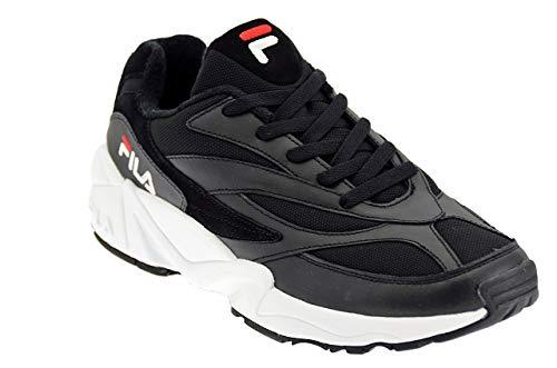 Fila Scarpe Urban 1010255 Uomo Venom Low Sneakers Nero Alta Heritage Vintage Nero