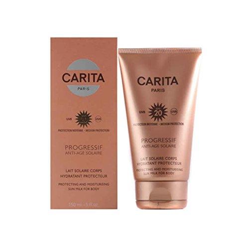 (Carita Progressif Protecting and Moisturizing Sun Milk for Body SPF 20, 5 Ounce)