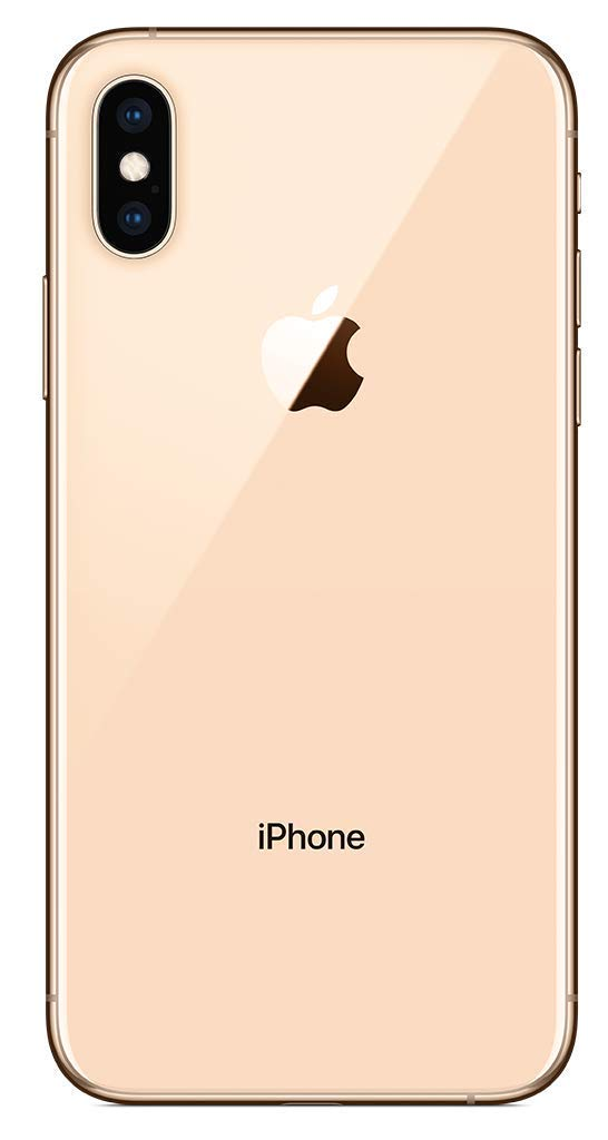 Apple iPhone XS, 64GB, Gold - Fully Unlocked (Renewed)