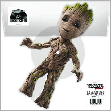 Guardians Inferno B W Dad  From Guardians Of The Galaxy Vol  2   10   Picture Disc