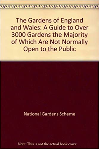 The Gardens of England and Wales 1993: A Guide to Over 3000 Gardens the Majority of Which are Not Normally Open to the Public