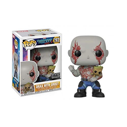 Funko Pop Guardians of the Galaxy Vol. 2 - Drax with Baby Groot (FYE Exclusive)