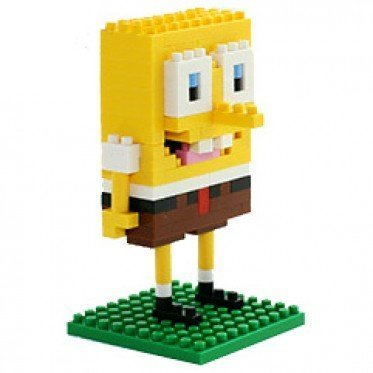 Loz Diamond Block Spongebob Educational - Diamond Professional Blocks