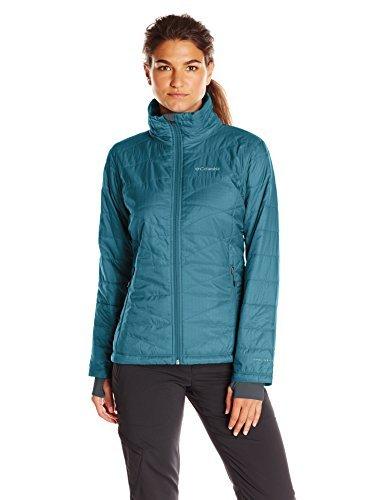 Columbia Women's Plus Size Mighty Lite iii Jacket, Blue Heron, 2X by Columbia