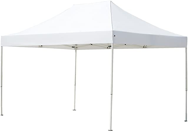 Amazon Com Abba Patio 10 X 15 Ft Outdoor Heavy Duty Pop Up Portable Instant Canopy Event Commercial Folding Canopy White Garden Outdoor