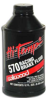 Wilwood Hi-Temp 570 Racing Brake Fluid by Wilwood
