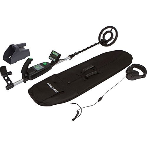 Adjustable stem and arm support for ease of use with Dual detection modes,TC-9700 Fortune Finder Pro Metal Detector Set