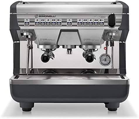 Nuova Simonelli APPIA II Compact Volumetric 2 Group Espresso Machine w AutoSteam 220V