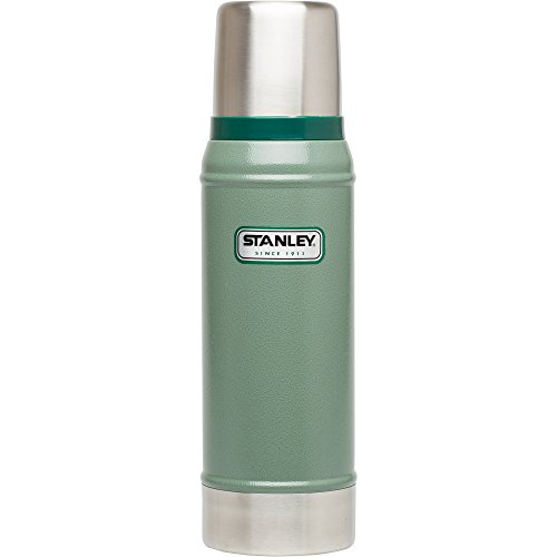 Retro Thermos (Stanley Classic Vacuum Bottle 25oz Hammertone Green)