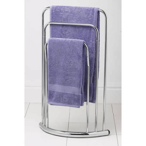 Bow Fronted 3 Rail Towel Stand from Caraselle PRIME