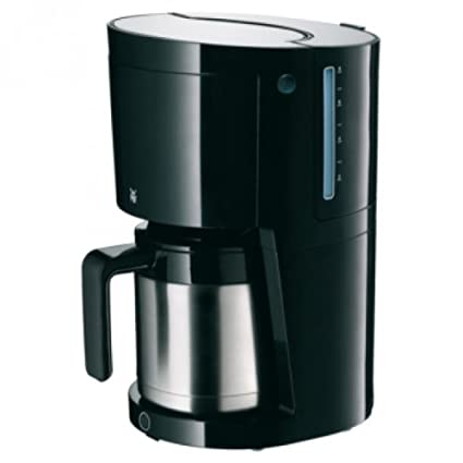 WMF 10 Cafetera, Color Negro/Acero Inoxidable