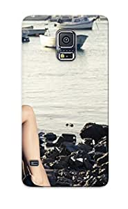 Quality Markrebhood Case Cover With Blonde Girl Beauty Cute Model Nice Appearance Compatible With Galaxy S5