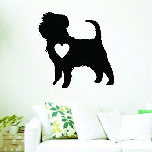 Affenpinscher Love Wall Size Decal Sticker Decals Stickers