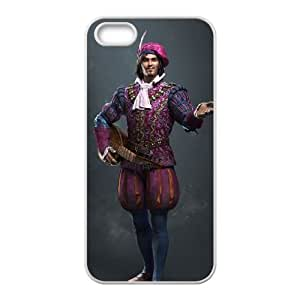 iPhone 5 5s Cell Phone Case White The Witcher 3 Wild Hunt review Dandelion OJ480532