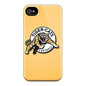 Durable Protector With Hamilton Tiger Cats Hot Design For Case Cover For SamSung Galaxy S4 Mini