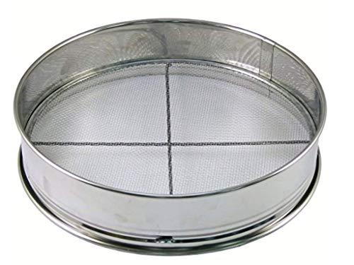 Japanese Stainless Bonsai Tool Soil Sieve Set w / 3 Nets – 14.5″x 14.5″x 3″